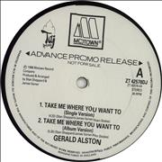 Click here for more info about 'Gerald Alston - Take Me Where You Want To'