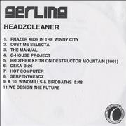 Click here for more info about 'Gerling - Headzcleaner'