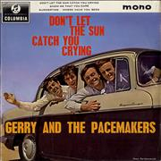 Click here for more info about 'Gerry And The Pacemakers - Don't Let The Sun Catch You Crying EP'