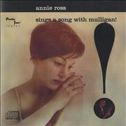 Click here for more info about 'Gerry Mulligan - Annie Ross Sings A Song With Mulligan'