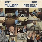 Gerry Mulligan Gerry Mulligan - Astor Piazzolla France vinyl LP