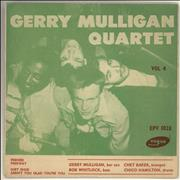 Click here for more info about 'Gerry Mulligan - Gerry Mulligan Quartet Vol. 4'