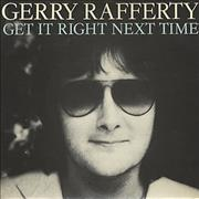 Click here for more info about 'Gerry Rafferty - Get It Right Next Time'