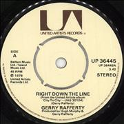 Click here for more info about 'Gerry Rafferty - Right Down The Line'