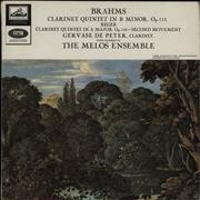 Click here for more info about 'Gervase De Peyer - Brahms Clarinet Quintet In B Minor, Op.115 / Reger Quintet In A Major, Op146'