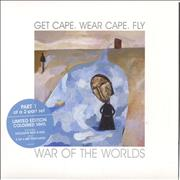 Click here for more info about 'Get Cape. Wear Cape. Fly - War Of The World - Parts 1 & 2 - Coloured Vinyl'