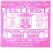 Click here for more info about 'Ghost Dance - Promo Flyer - 1989'
