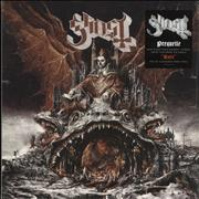 Click here for more info about 'Ghost (Swedish) - Prequelle - Clear Red Swirl'