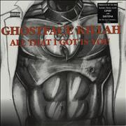 Click here for more info about 'Ghostface Killah - All That I Got Is You'