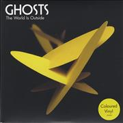 Click here for more info about 'Ghosts - The World Is Outside - Yellow Vinyl'