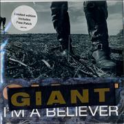 Click here for more info about 'Giant - I'm A Believer - Sealed + Patch'
