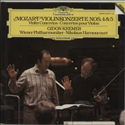 Click here for more info about 'Gidon Kremer - Mozart: Violinkonzerte Nos. 4 & 5'