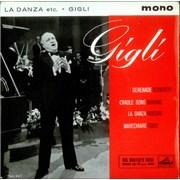 Click here for more info about 'Gigli - La Danza, etc.'