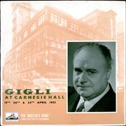 Click here for more info about 'Gigli - at Carnegie Hall'