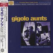 Gigolo Aunts Minor Chords And Major Themes Japan CD album Promo