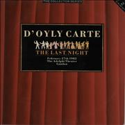 Click here for more info about 'Gilbert & Sullivan - D'Oyly Carte - Last Night'