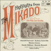 Click here for more info about 'Gilbert & Sullivan - Highlights From The Mikado'