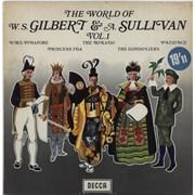 Click here for more info about 'Gilbert & Sullivan - The World Of Gilbert & Sullivan: Vol. 1 - 1st'