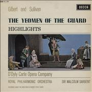 Click here for more info about 'Gilbert & Sullivan - The Yeomen Of The Guard Highlights'