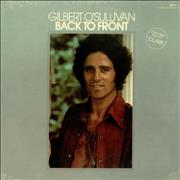 Click here for more info about 'Gilbert O'Sullivan - Back To Front - Sealed'