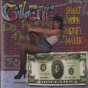 Click here for more info about 'Gillette - Shake Your Money Maker'