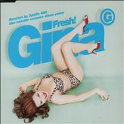 Click here for more info about 'Gina G - Fresh + Poster'