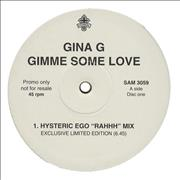 Click here for more info about 'Gina G - Gimme Some Love'
