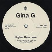 Click here for more info about 'Gina G - Higher Than Love'