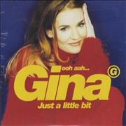 Click here for more info about 'Gina G - Ooh Aah Just A Little Bit - Card Picture Sleeve'
