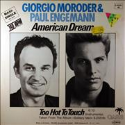Click here for more info about 'Giorgio Moroder - American Dream - Red Vinyl'