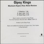 Click here for more info about 'Gipsy Kings - Mochiach/Kaplan/Huts 'Roots' Remixes'