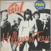 Click here for more info about 'Girl - Hollywood Tease - Poster Sleeve + Sealed'