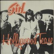 Click here for more info about 'Girl - Hollywood Tease - Poster Sleeve'