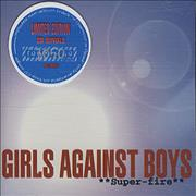 Click here for more info about 'Girls Against Boys - Super-Fire'