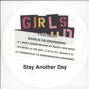 Click here for more info about 'Girls Aloud - Stay Another Day'