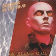 Click here for more info about 'Girlschool - Burning In The Heat'