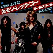 Click here for more info about 'Girlschool - C'Mon Let's Go'