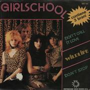Click here for more info about 'Girlschool - Don't Call It Love'