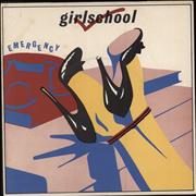 Click here for more info about 'Girlschool - Emergency - P/S'