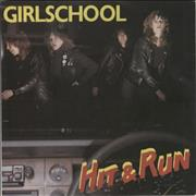 Click here for more info about 'Girlschool - Hit & Run - P/S'