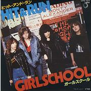 Click here for more info about 'Girlschool - Hit & Run'