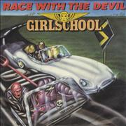 Click here for more info about 'Girlschool - Race With The Devil'