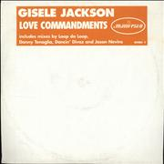 Click here for more info about 'Giselle Jackson - Love Commandments'