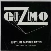Click here for more info about 'Gizmo - Just Like Master Bates - White Vinyl'