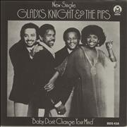 Click here for more info about 'Gladys Knight & The Pips - Baby Don't Change Your Mind + Sleeve'
