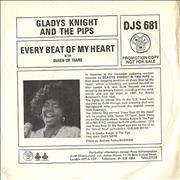 Click here for more info about 'Gladys Knight & The Pips - Every Beat Of My Heart - Promo P/S'