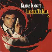Click here for more info about 'Gladys Knight & The Pips - Licence To Kill - Red sleeve'