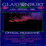 Click here for more info about 'Glastonbury - 1986 Festival'