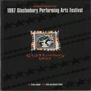 Click here for more info about 'Glastonbury - 1997 Festival'