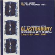 Click here for more info about 'Glastonbury - 2000 Festival'